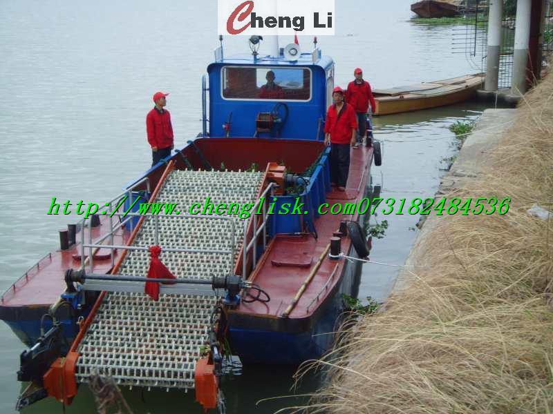 自制油桶船