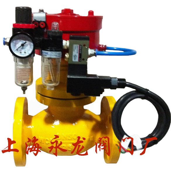 适用于氨气/燃气储罐,管道出入口控制切断流量的安全阀门.图片